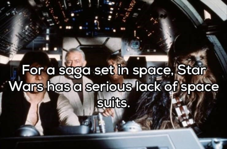 Font - For a saga setin space. Star Wars has a serious lack of space suits.