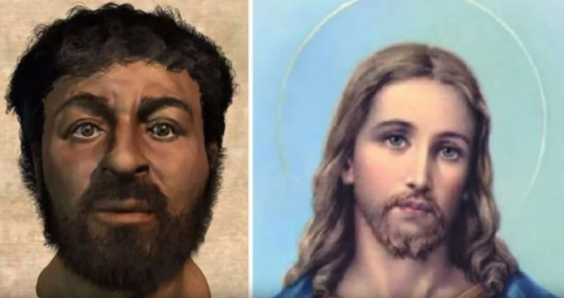 'Instagram vs. Reality' meme - Jesus Christ