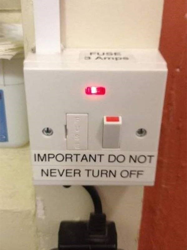 Product - FUSE Amps IMPORTANT DO NOT NEVER TURN OFF