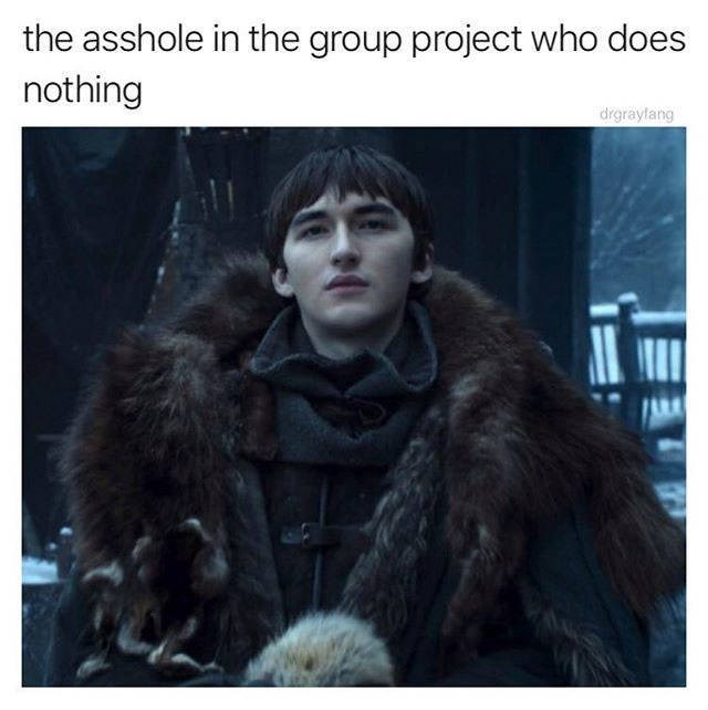 Fur - the asshole in the group project who does nothing drgrayfang