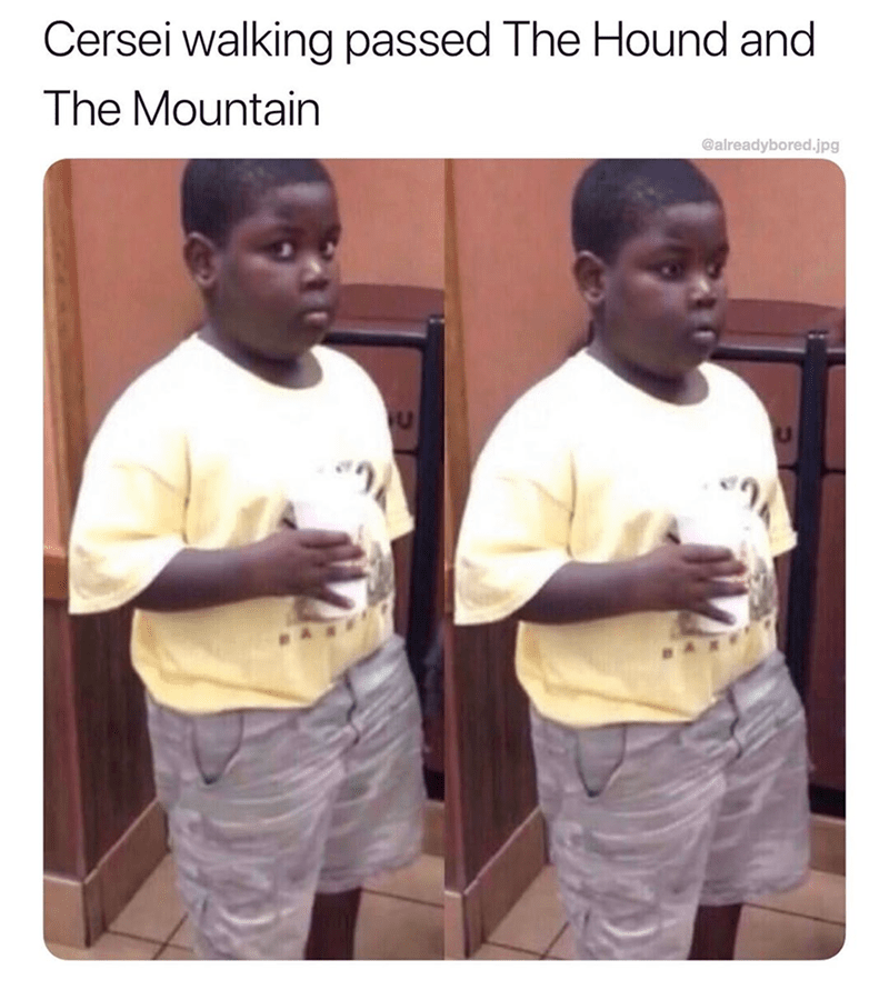 Human - Cersei walking passed The Hound and The Mountain @alreadybored.jpg