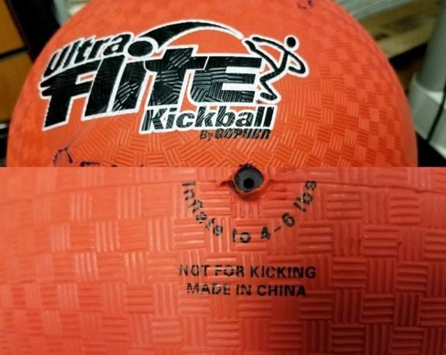 Orange - Ultra FE Kickbail By BiPED NOTFOR KICKING MADE IN CHINA LEL