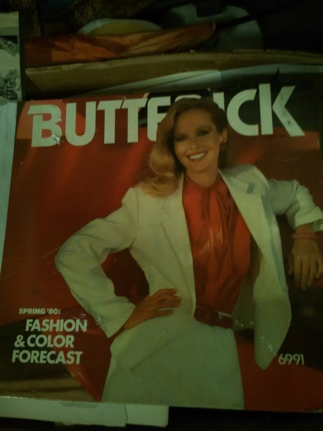Poster - BUTTF CK SPRING '80 FASHION &COLOR FORECAST 6991