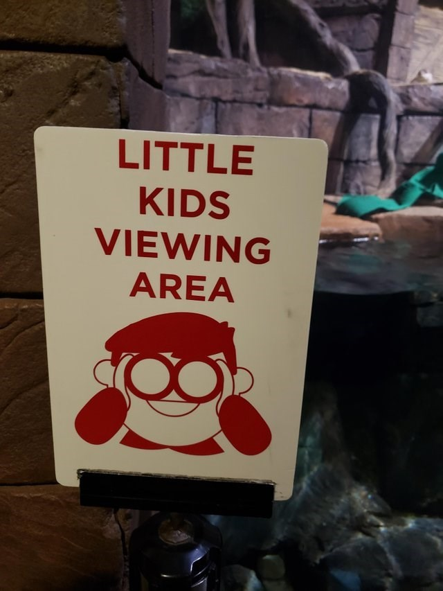 Font - LITTLE KIDS VIEWING AREA