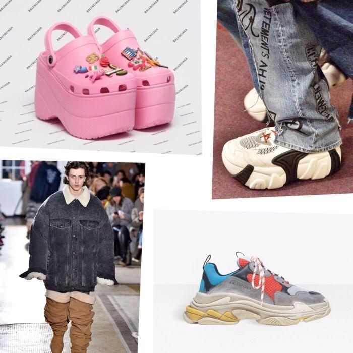 Footwear - mshs wONITS yowia ONTH www wwe ON www WON ww EMENT VETEMENTS AH 19