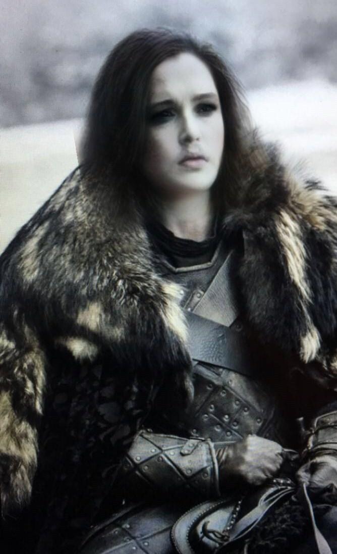 Photo of Jon Snow using Snapchat gender change filter.