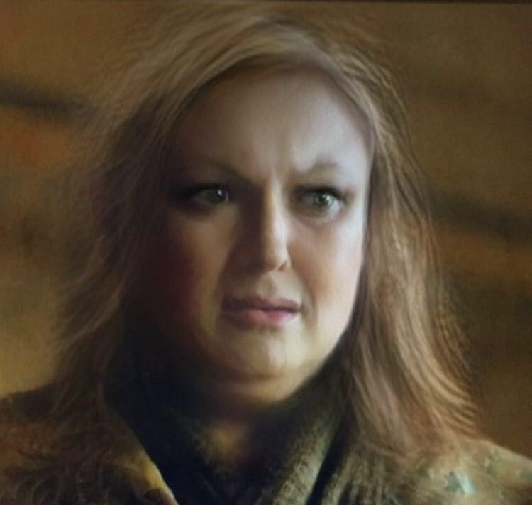 Photo of Varys using snapchat gender change filter.