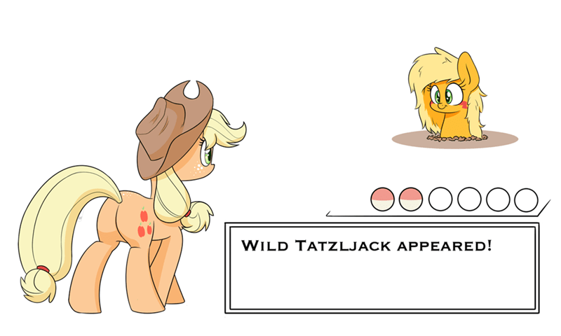 applejack Pokémon tatzljack tatzlwurm heir of rick - 9305564928