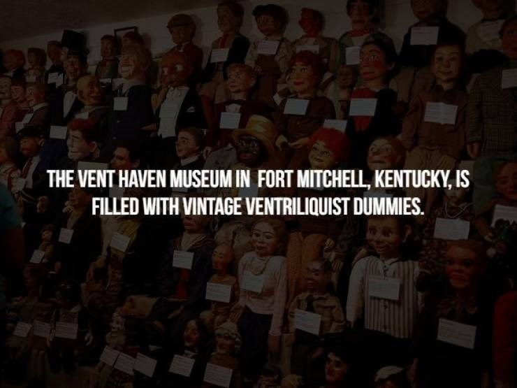 People - THE VENT HAVEN MUSEUM IN FORT MITCHELL, KENTUCKY, IS FILLED WITH VINTAGE VENTRILIQUIST DUMMIES