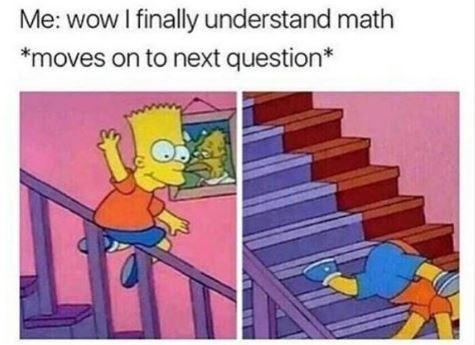 Funny math meme