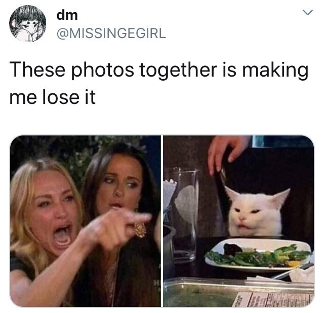 dank memes - Photo caption - dm @MISSINGEGIRL These photos together is making me lose it