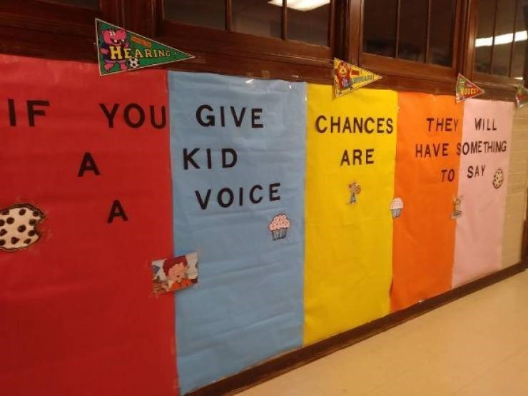 infuriating pics - Bulletin board - HEARING IF VaIcE YOU GIVE CHANCES THEY WILL HAVE SOME THING TO SAY KID A ARE VOICE