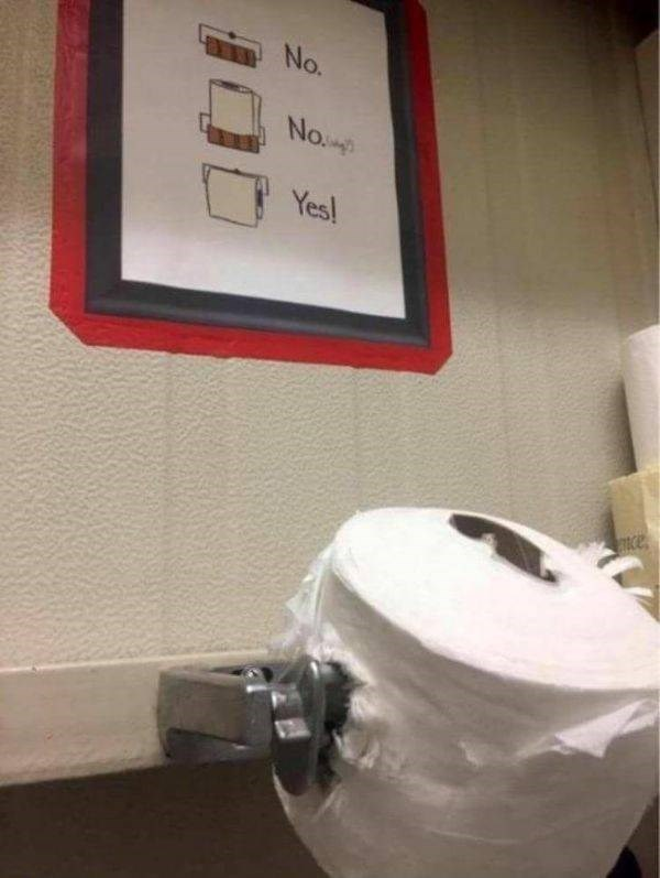 infuriating pics - Toilet - No. No.p Yes
