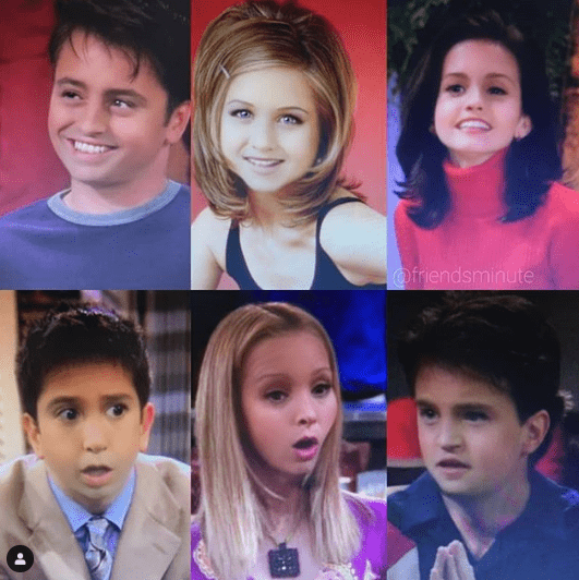 Snapchat baby filter - Friends
