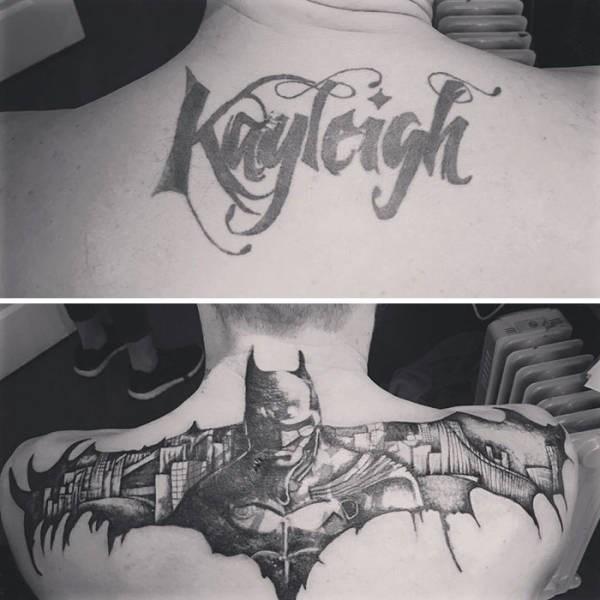 cover up - Batman