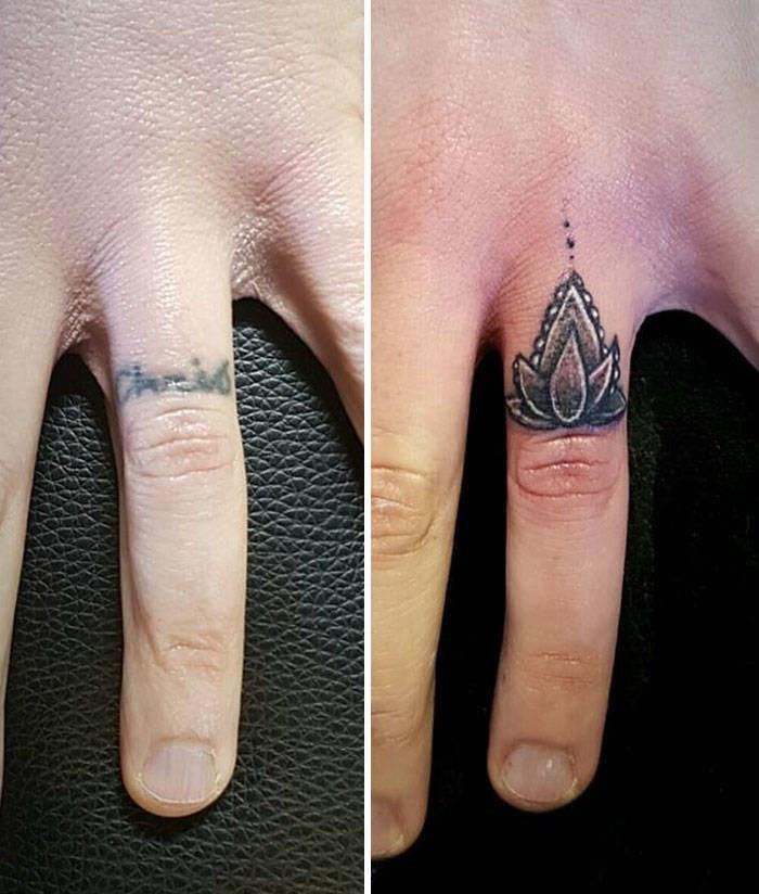 cover up - Finger