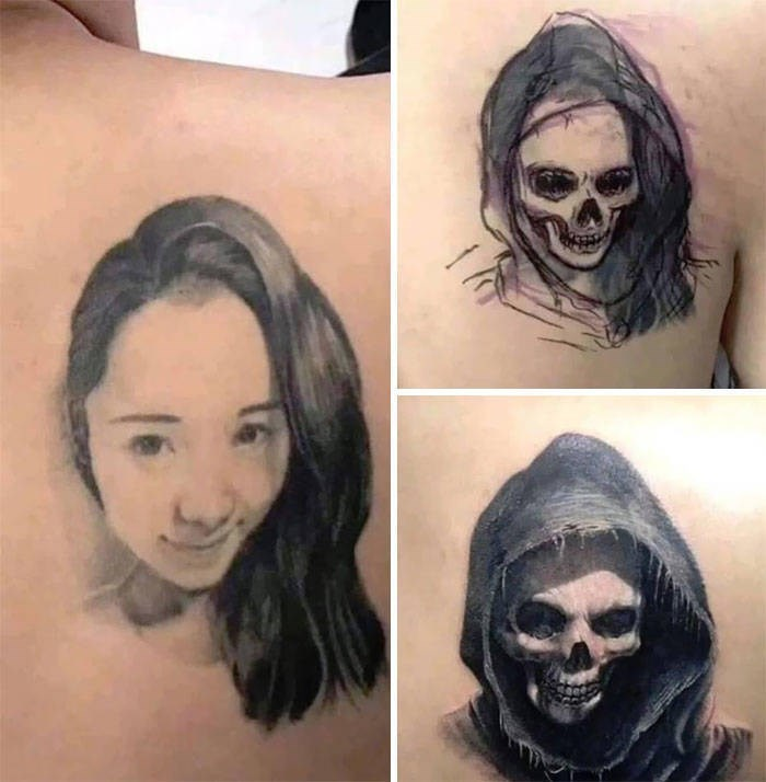 cover up - Face