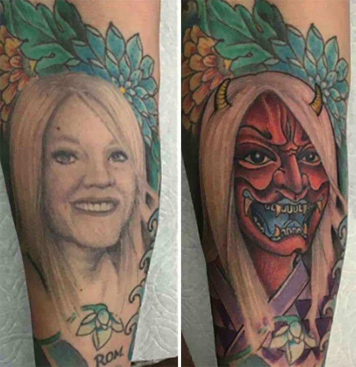 cover up - Tattoo - ROM