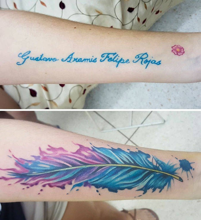 cover up - Tattoo - Guatave Aramie Felipe Rojas