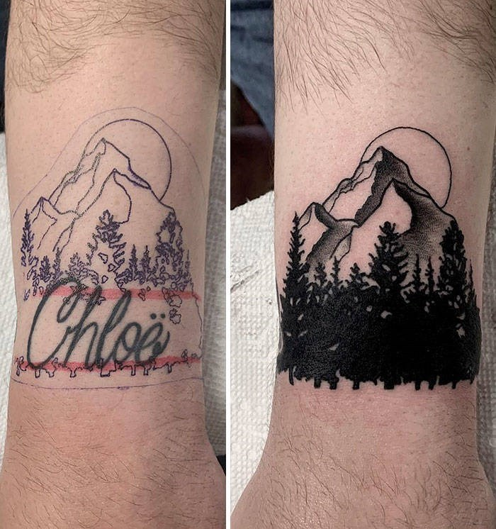 cover up - Tattoo - Chlea