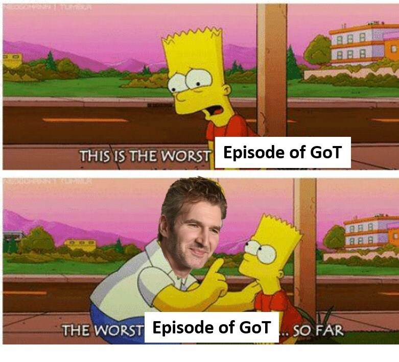 Cartoon - BB.B THIS IS THE WORST Episode of GoT THE WORST Episode of GoTSO FAR