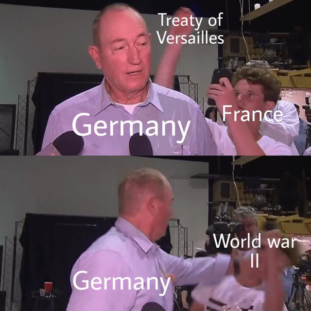 dank memes-treaty of versailles