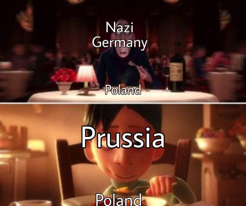 meme - Font - Nazi Germany Poland Prussia Poland
