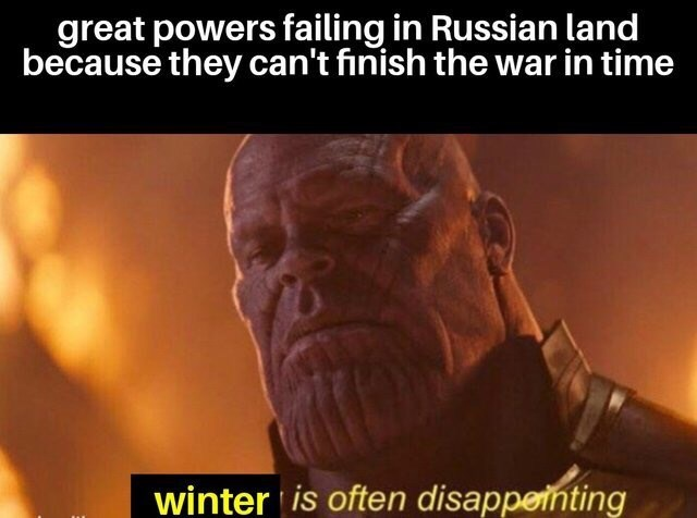 dank memes-thanos and russia