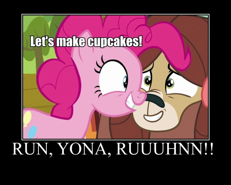 yaks screencap pinkie pie cupcakes yona - 9306997504