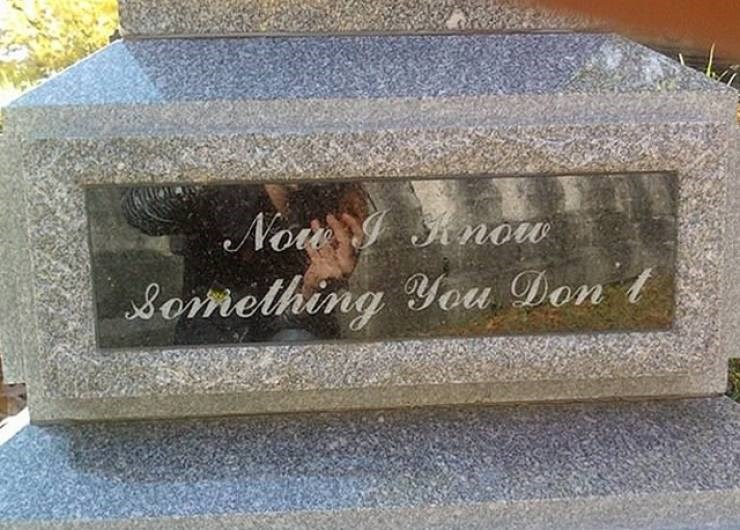 Headstone - No ow omelhing You Don t