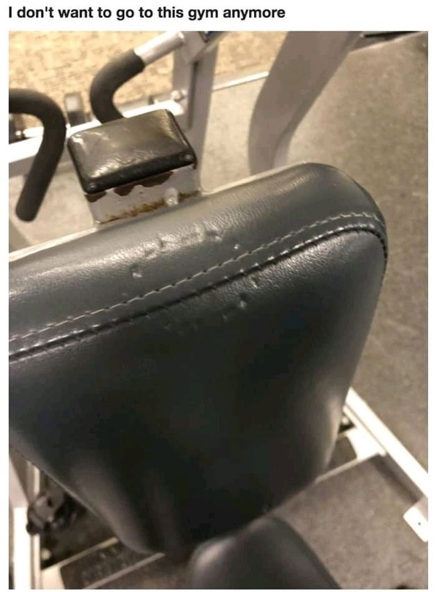 sad moment - Tire - I don't want to go to this gym anymore