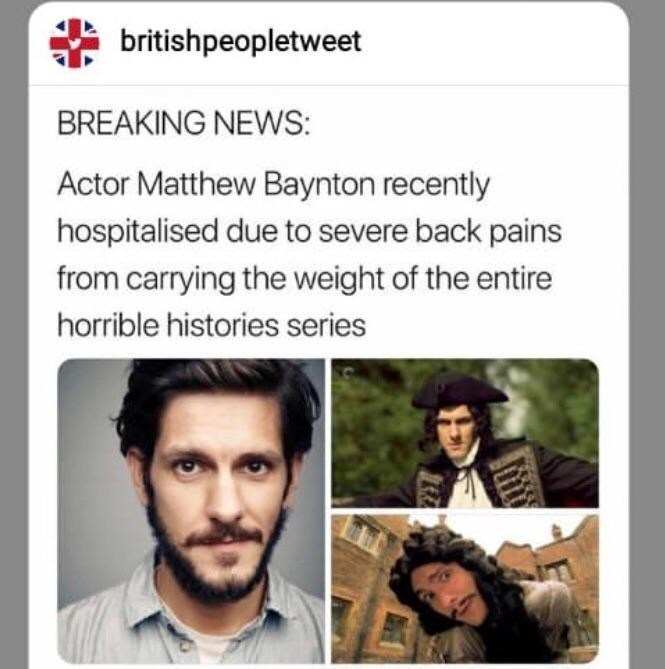 Funny meme about people who have 'severe back pain' from carrying all the weight