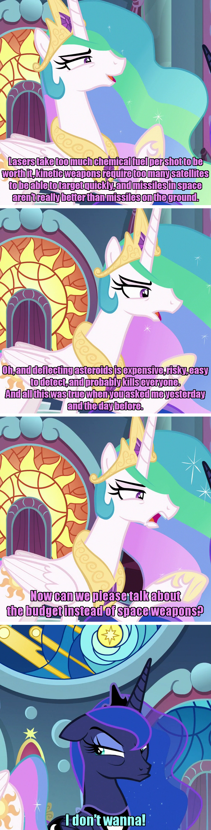 incorrect my little pony quotes twilight's seven Saturday Morning Breakfast Cereal screencap princess luna princess celestia - 9307782912