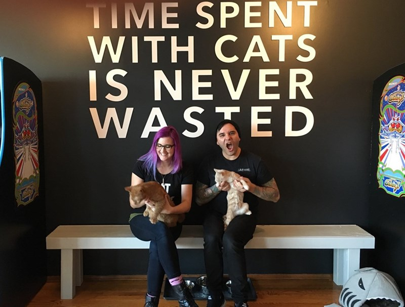 Christopher Gutierrez and Shelly Casey of The Catcade, Chicago