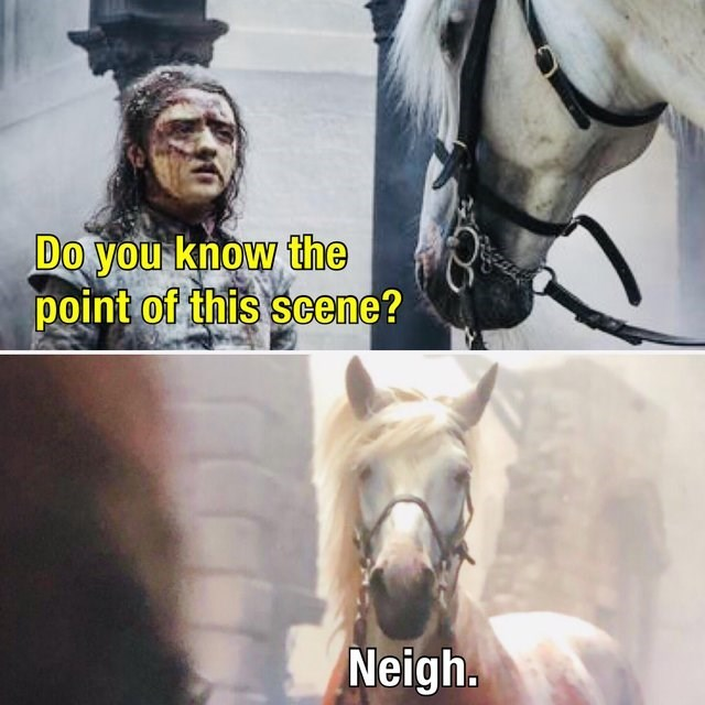 Disappointed game of thrones memes, meta meme