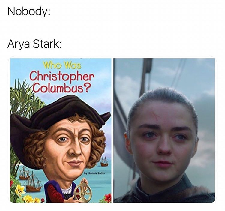 Face - Nobody: Arya Stark: Who Was Christopher Columbus? by Bonnie Bader