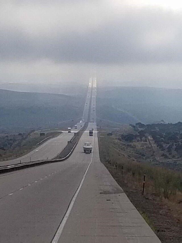 optical illusion - Road