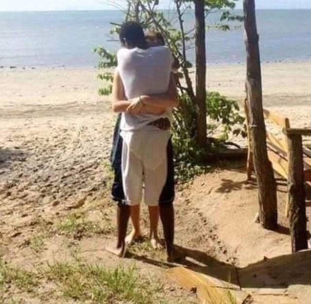 optical illusion - Beach - 1A