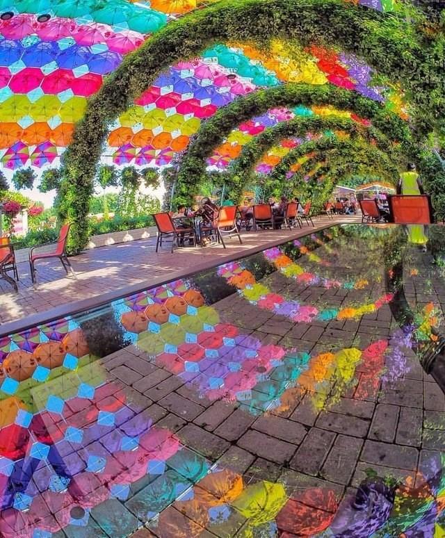 optical illusion - Mosaic