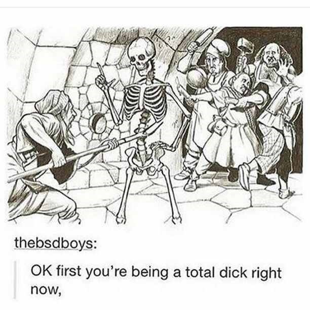 dank memes - Line art - thebsdboys: OK first you're being a total dick right now,