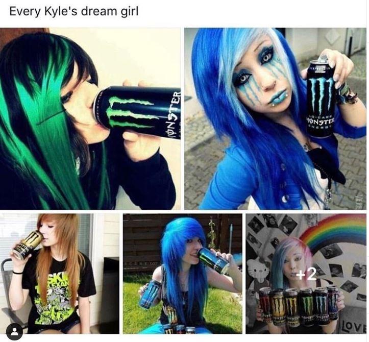 meme kyle - Hair - Every Kyle's dream girl +2 SKI LOVE ONSTER