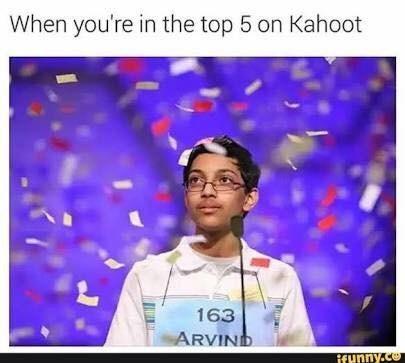 Funny Kahoot meme