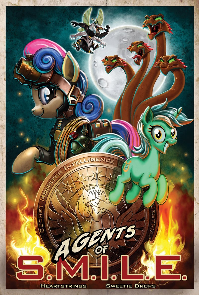 marvel hydra lyra heartstrings harwick ponify bugbear princess celestia bon bon agents of shield - 9309481984