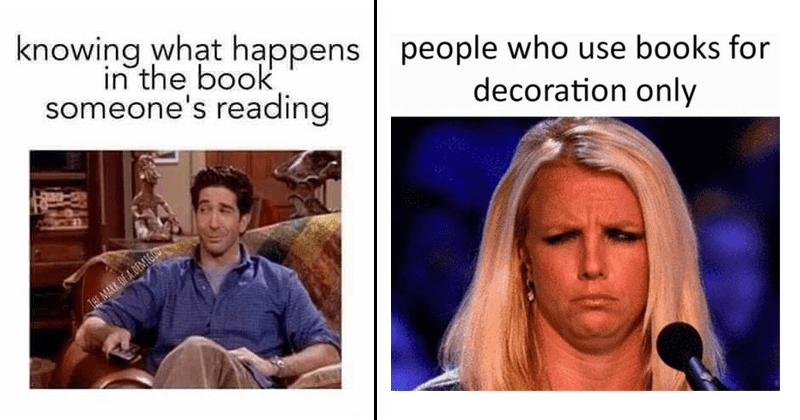 Funny memes about reading, funny memes about books, random memes,