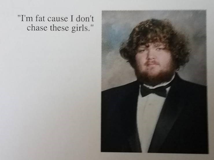 "Hair - ""I'm fat cause I don't chase these girls."""