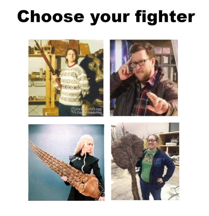 Music - Choose your fighter Paleontology Coproliteposting