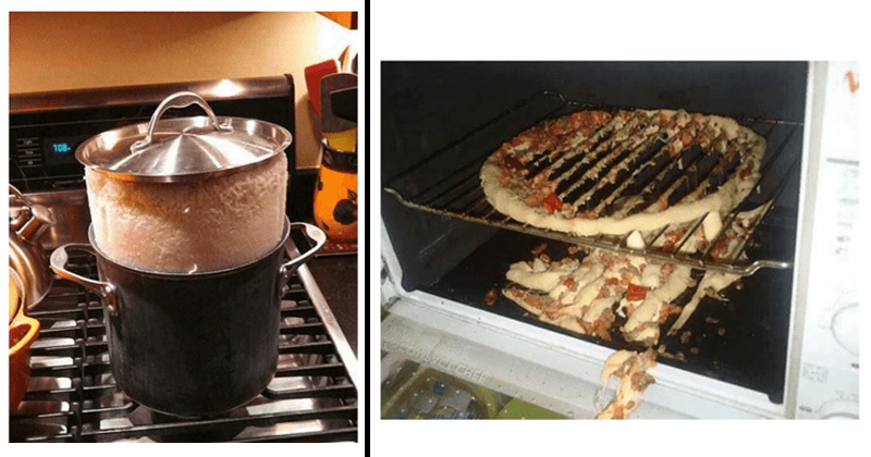 Funny cooking fails and photos