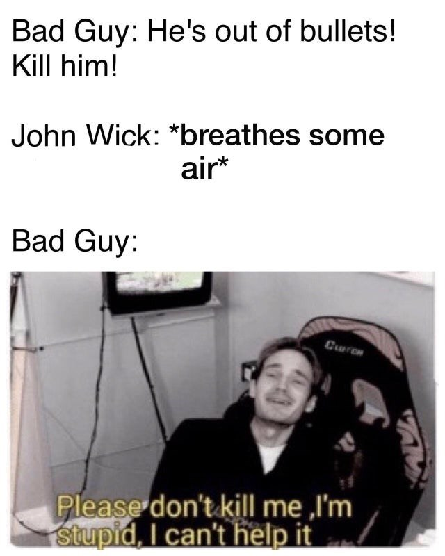 17 John Wick Memes That Ll Strike Fear In The Hearts Of Bad Guys Memebase Funny Memes