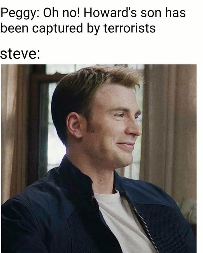 Steve Rogers/Captain America memes with Chris Evans