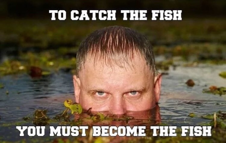 Funny meme about fishing